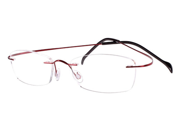 66b305d00e ... Agstum Women Rimless Frame Pure Titanium Prescription Hingeless Eyeglasses  Rx Clear Lenses ...