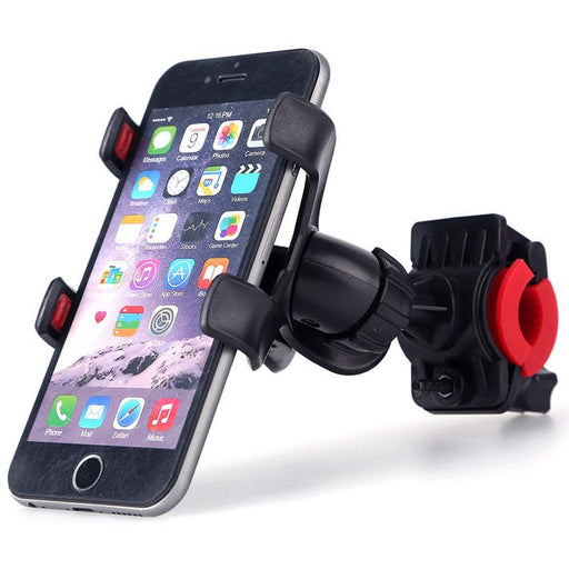 Anti-Slip Universal 360 Rotating Bicycle Bike Phone Holder Handlebar Clip Stand Mount Bracket For iphone 7 plus Mobile Cellphone