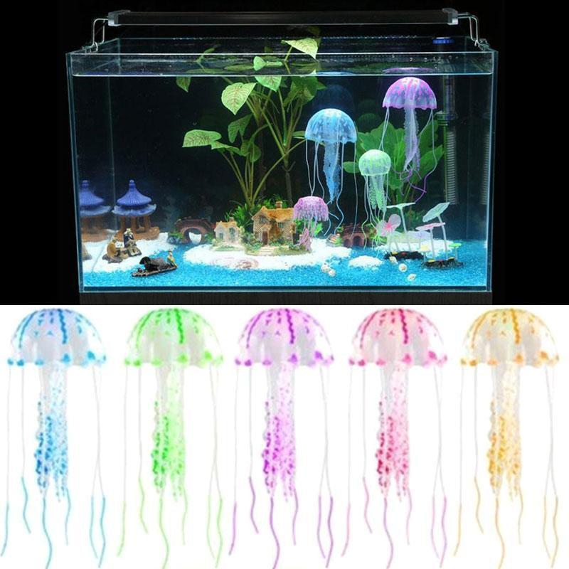 Artificial Jellyfish Aquarium Decoration Robot Fish Aquarium Decor