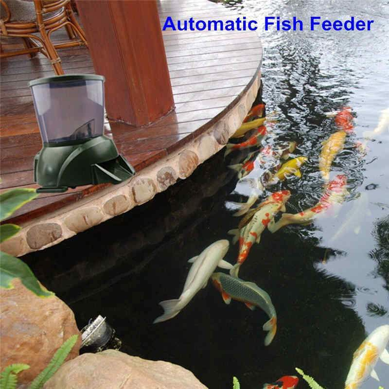 buying fish automatic rated feeders reviews guide top pond feeder