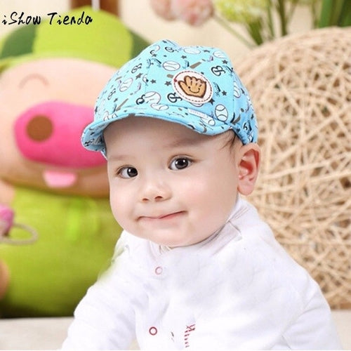 Baby Boy Hat Cartoon Ball Printing Toddler Infant