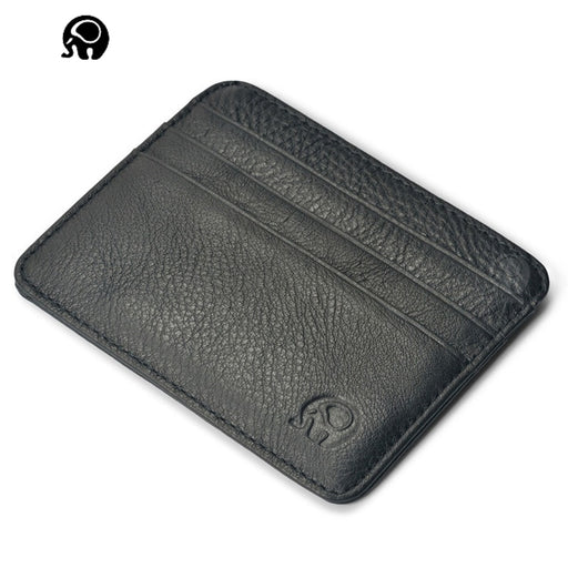 Brand Credit Id Card Holder Genuine Leather Vintage Passport Covers Passport Leather Cow Man Leather Badge Holder Women Coin Pur