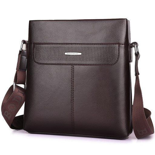 Brand Men Briefcase Bags Large New Business High Quality Leather Man Shoulder Crossbody Bag Black Brown Male Bag Hobos