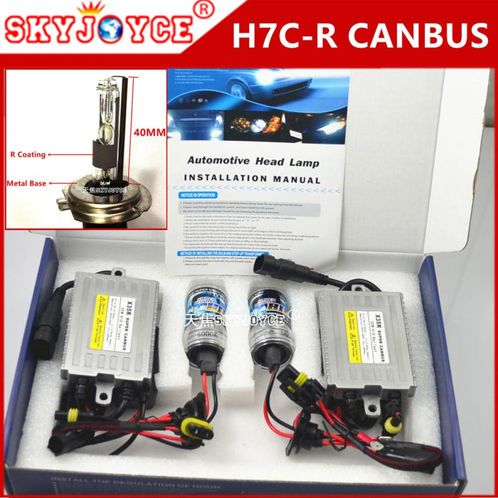 canbus h7cr xenon white hid kit h7cr 4300k 8000k 6000k 5000k h7cr h7rc kit  hid 40mm
