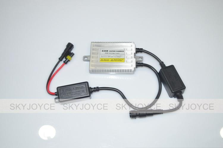 Canbus error free 35W AC quality xenon hid canbus kit H1 H3 H7 H8 H9 H10  H11 9005/6 880 canbus solve cars error warning with EMC