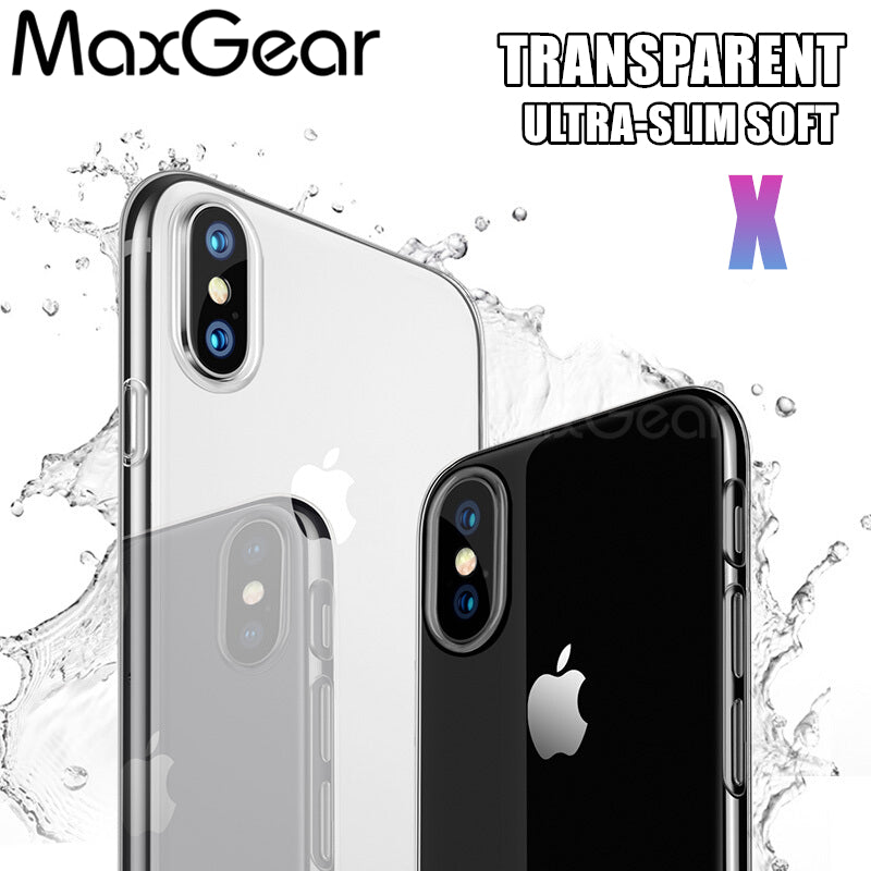 851ba2f7f6 Case For Apple iPhone X 10 Case Soft Silicone Clear Transparent TPU Back  Cover For iPhone