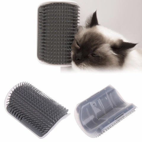 Cat Self Groomer Grooming Brushes Pets Hair Removal Tool Auto Massager Brush Comb With Catnip for Pet Dogs Cat C42