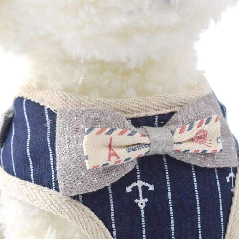 Cute Dog Harness Leash Running Jogging Clothes Vest Leashes For Dogs