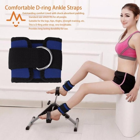 D-ring Ankle Strap Belt Multi Gym Cable Attachment