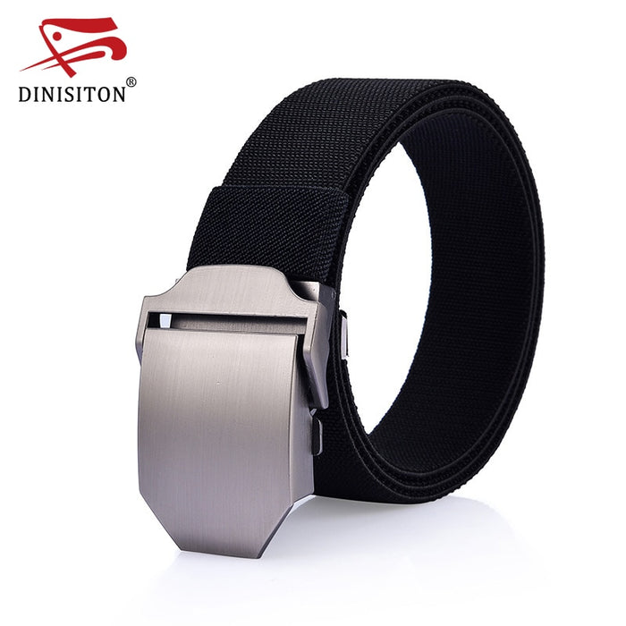 DINISITON Military tactical belt Men's Canvas Strap Metal
