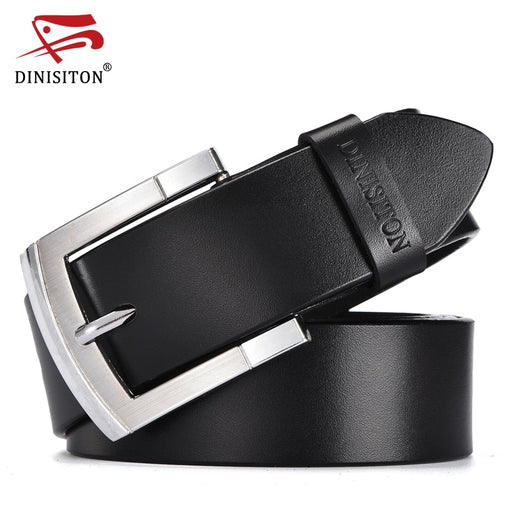 DINISITON designer belts men high quality vintage cow genuine leather belt trouser strap gift for men  belts luxury ceinture
