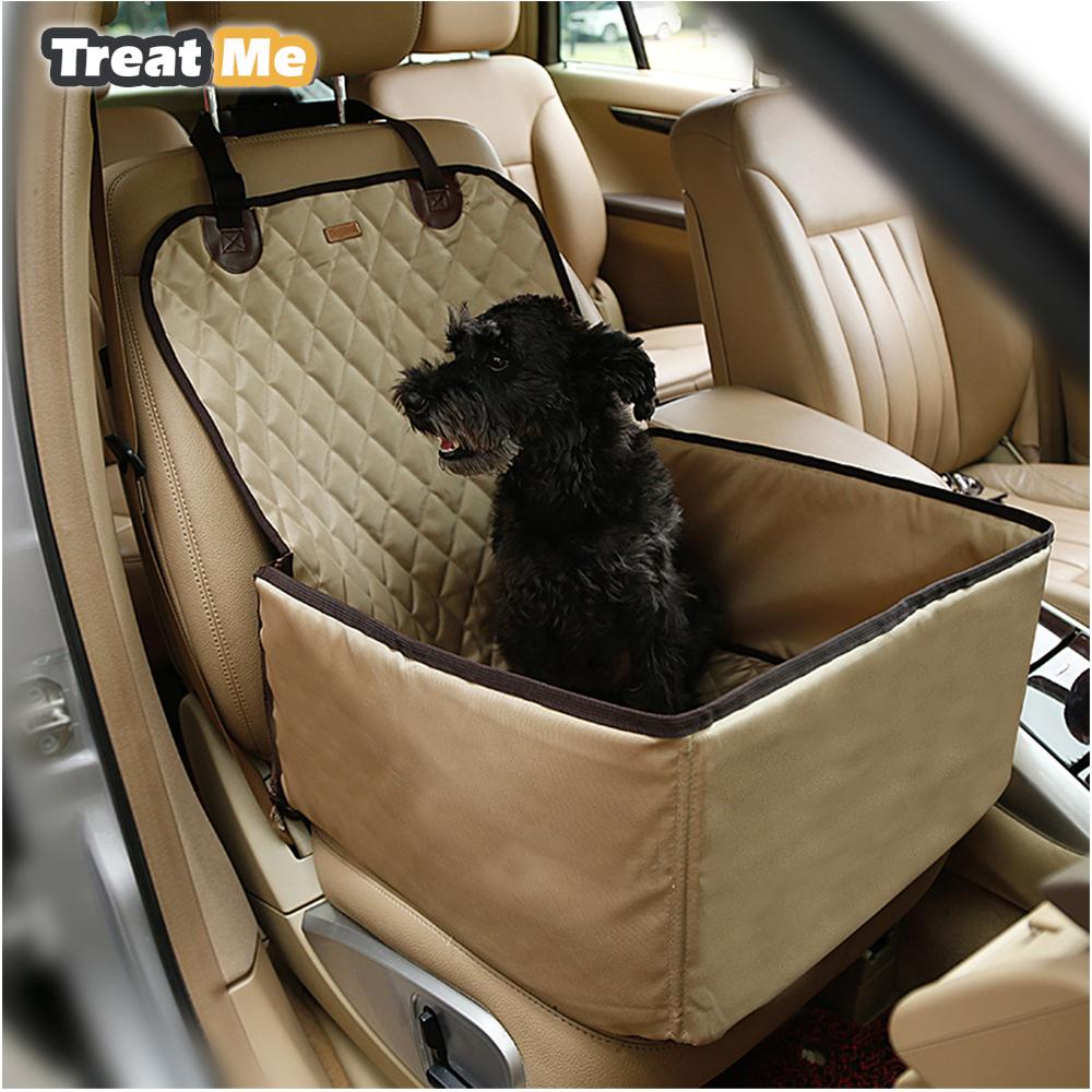 Deluxe Pet Dog Car Booster Seat Travel Bster For Small Large Dogs Portable Canine