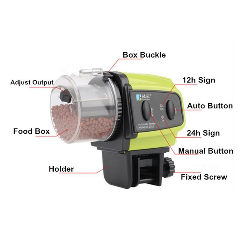 amazon timer small food automatic com auto supplies aquarium size feeding feeders fish dp times pet ppbean tank self lcd feeder