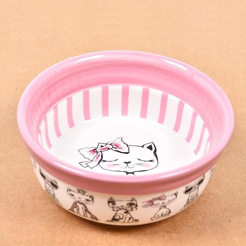 dog bowl ceramics pocket portable travel feeding tableware water