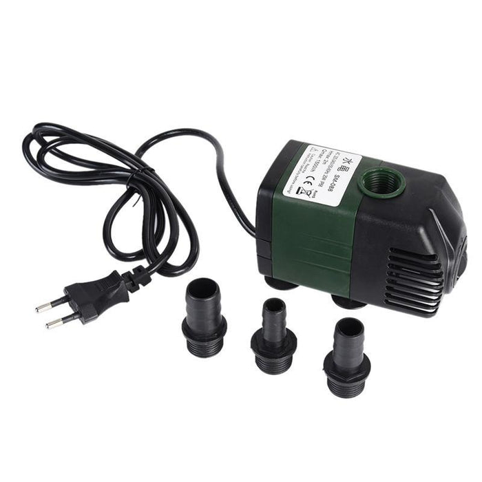 EU 1500L/h Air Water Pump Super Silence Function Submersible Water Pump  Aquarium Pond Fish Tank Power head Fountain Hydroponic