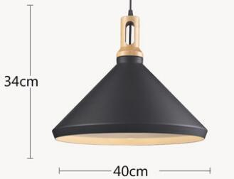 Euignis nordic wood pendant light modern lighting luminaire suspendu e