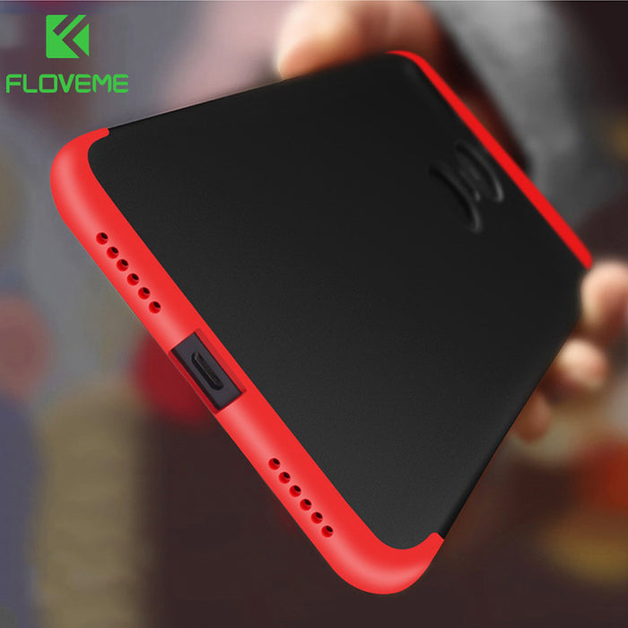 sports shoes fd807 1d1f6 FLOVEME For Xiaomi Redmi 4X Cases ,Luxury 3 in 1 360 Mobile Phone  Accessories Cover For Xiaomi 5 5s 6 Max2 Note 4 4X Case