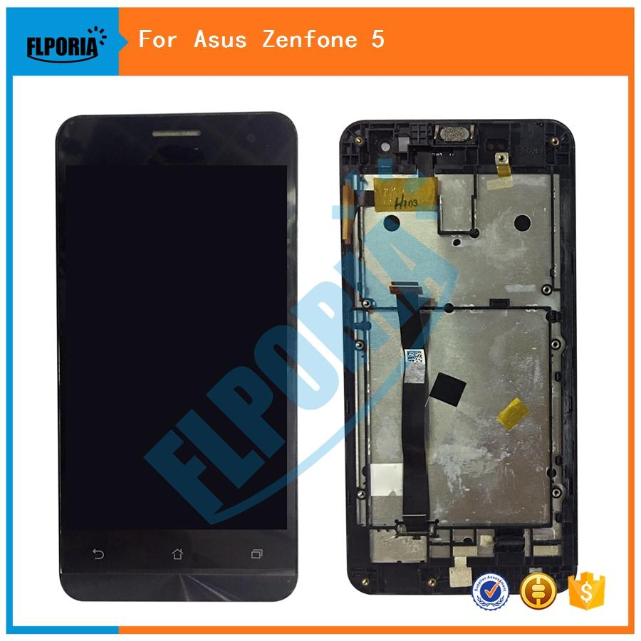 FLPORIA For ASUS Zenfone 5 A500CG A501CG LCD Display With Touch Screen Digitizer Assembly Frame