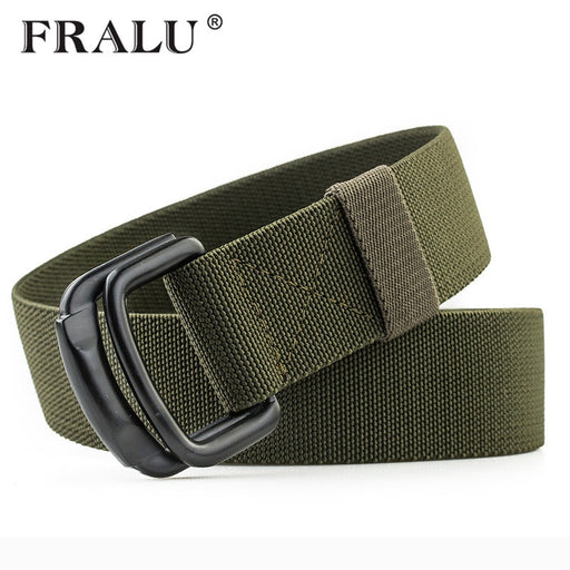 FRALU New Men Tactical Belt Military Nylon Belt High Quality Strap ceintures Outdoor multifunctional Training Belt