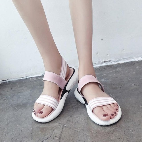 Fashion Women Sandals Cloth Shake Shoes Summer