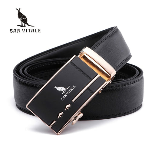 Fashion men's belts designer leather straps for male automatic buckle authentic girdle Waistband trend ceinture cinto masculino