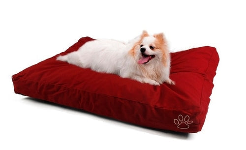 Fast delivery Dog Cushion Cover Red Yan Cotton Bed