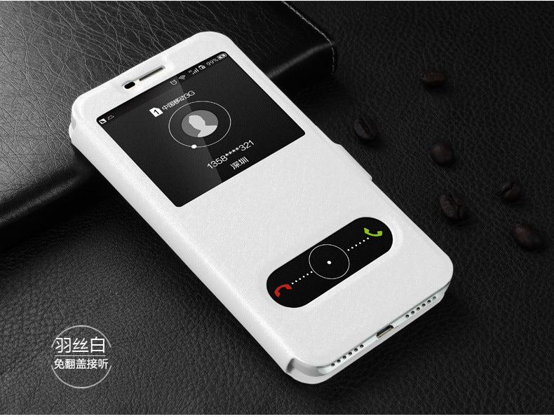 For Huawei Honor 4C Pro Case Quick View Window Case For Huawei Y6 Pro Cover  Flip PU Leather TIT-L01 TIT-U02 Phone Cases TIT-AL00