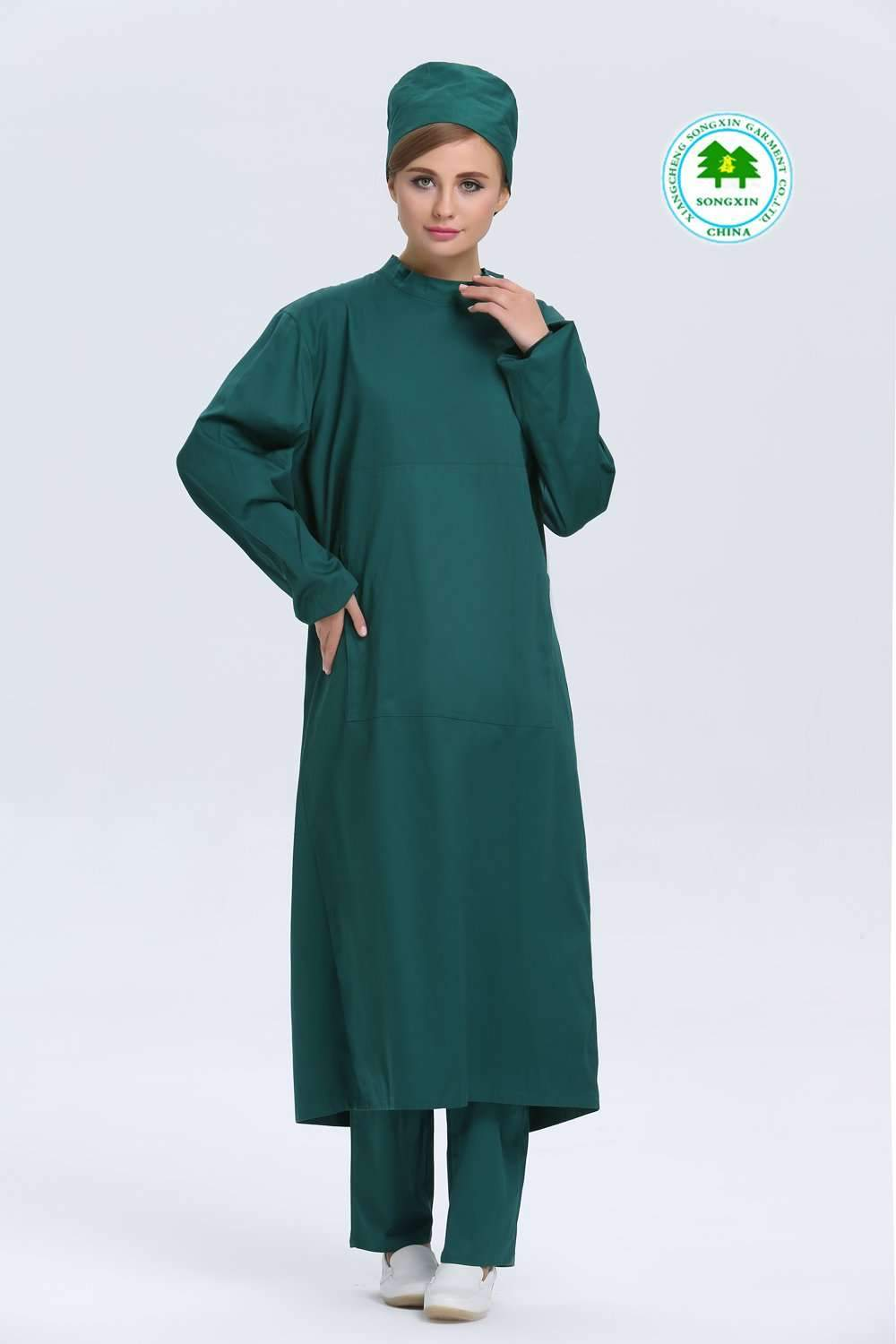 Free Shipping OEM surgical gown surgical kit nurse wear hospital ...