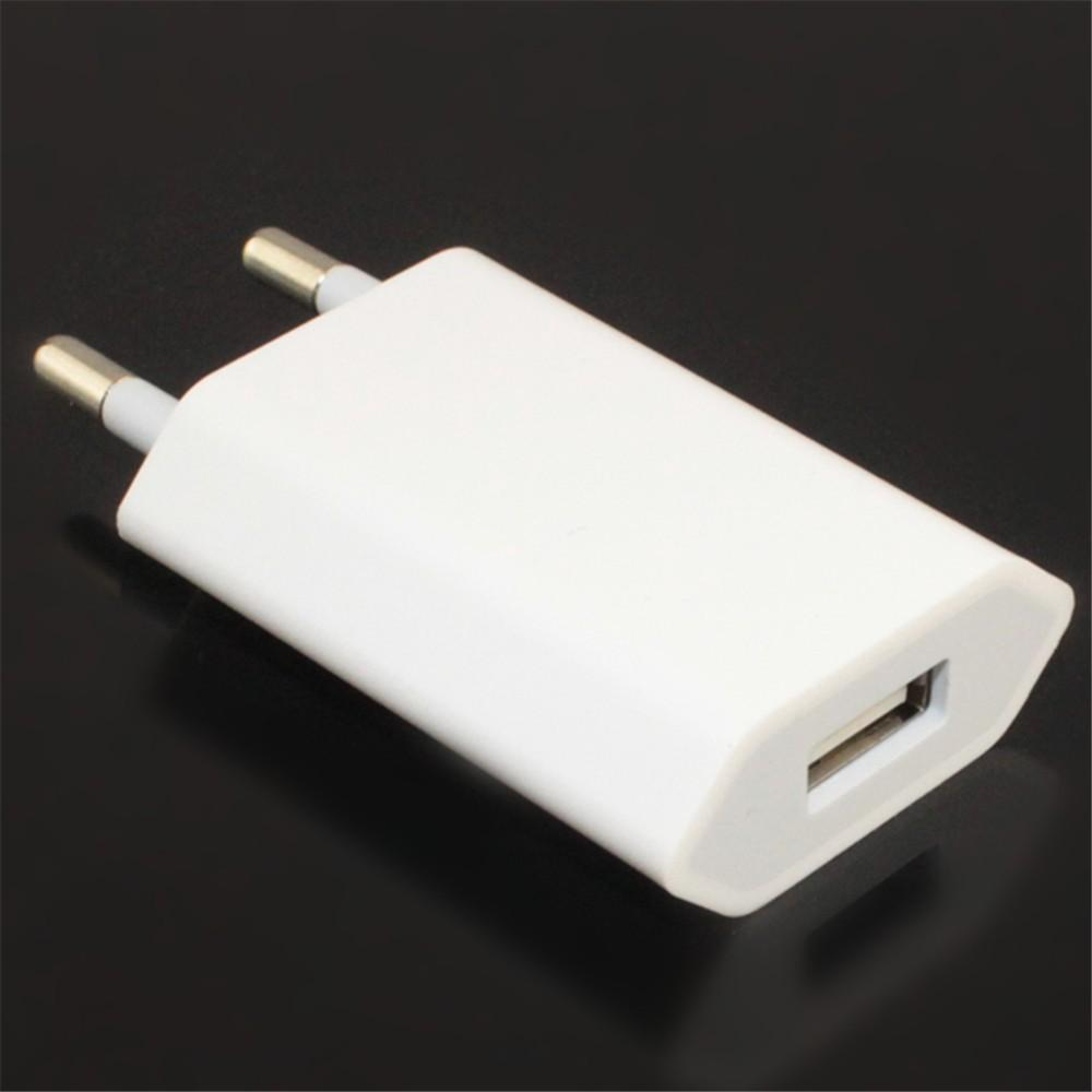 Geumxl 5v 1a Travel Eu Plug Usb Wall Charger Adapter Power 1m Apple Iphone 4g 4s 30pin Sync
