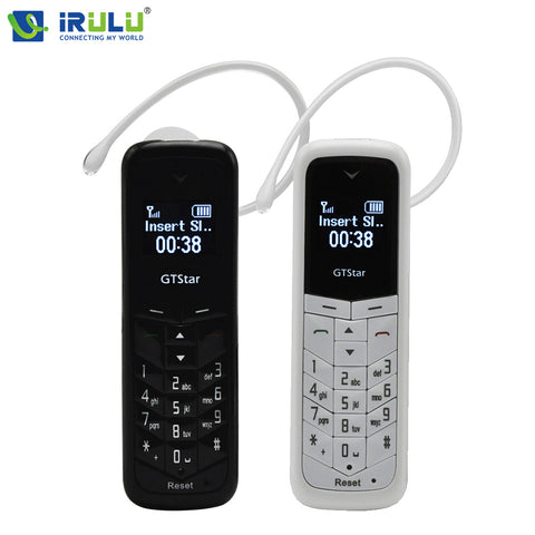 GT Star Brand Mini bluetooth handset phone BM50 0.66 inch Unlocked Mini Mobile Phone Bluetooth Earphone Dialer Single SIM Card