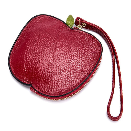 Genuine Leather Women Coin Purse Girls Cute Fashion Ladies Kids Mini Wallet Bag Change Pouch Key Holder Small Money Wristlet Bag