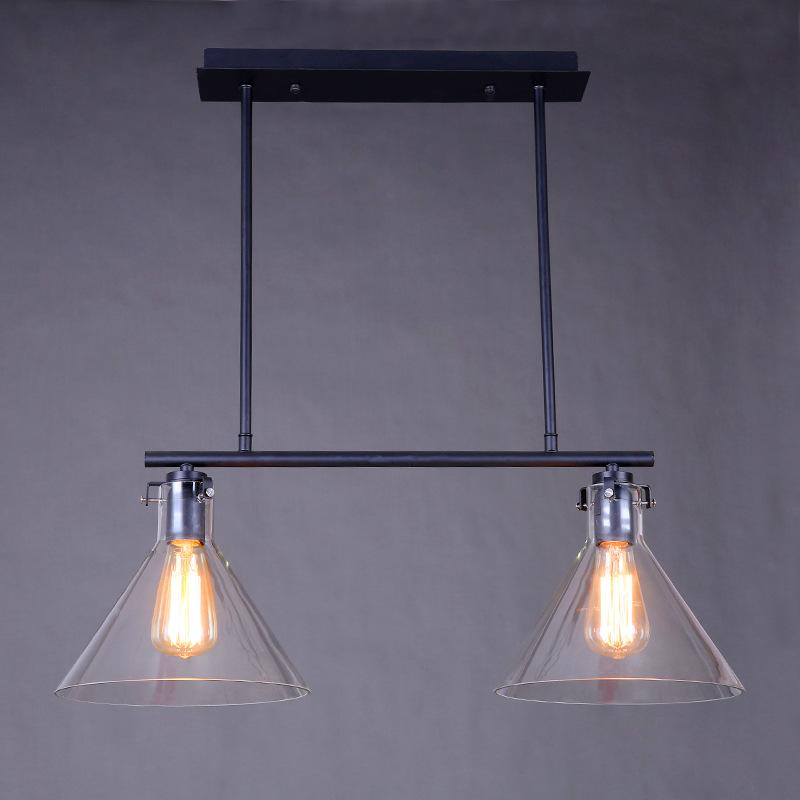 industrial pulley pendant light edison bulb glass retro iron pulley pendant lights loft american vintage industrial rope antique edison lamps