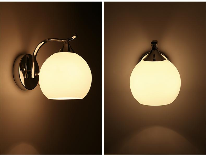 Glass Wall Light Bedroom Wall Lamp Bedroom Sconces Deco Decoration ...