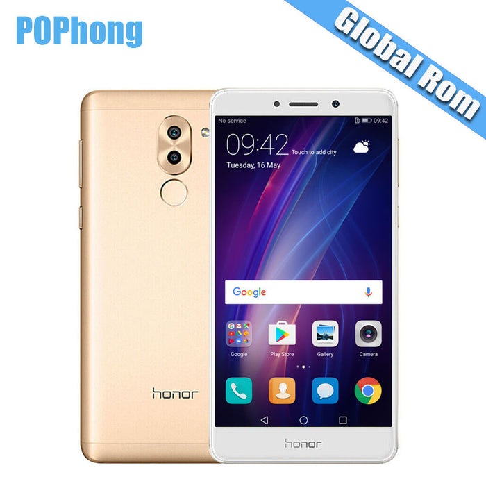 Global ROM Huawei Honor 6X GR5 3GB/4GB RAM 32GB/64GB ROM Dual Rear Camera  Cell Phone 5 5 inch Kirin 655 Octa Core Android 7 0 S