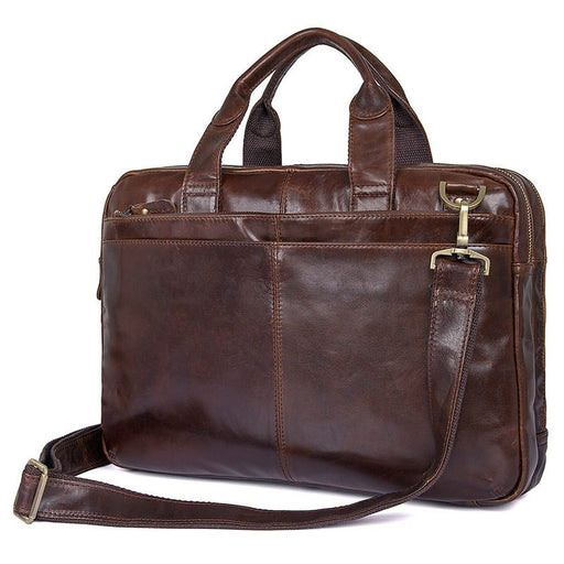 IMIDO genuine leather men briefcases messenger bag hand bag shoulder bag cross body bag