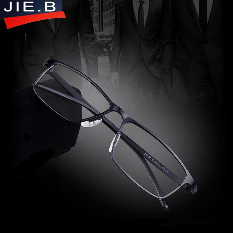 JIE.B Brand Super light Man Pure Titanium Glasses optical ...
