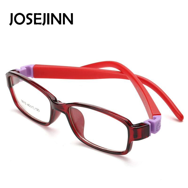 JOSEJINN Bendable square Light Child Glasses frame kids frames ...