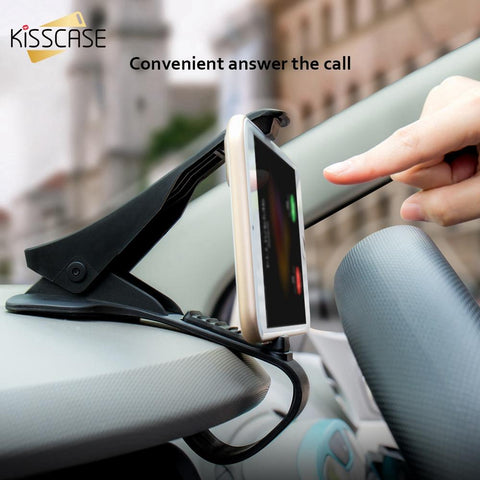 "KISSCASE Universal 6.5"" Car Stand Holder For iPhone X 8 7 6 Plus Dashboard Mobile Phone Navigation For Xiaomi Redmi 4X Note 4 5"