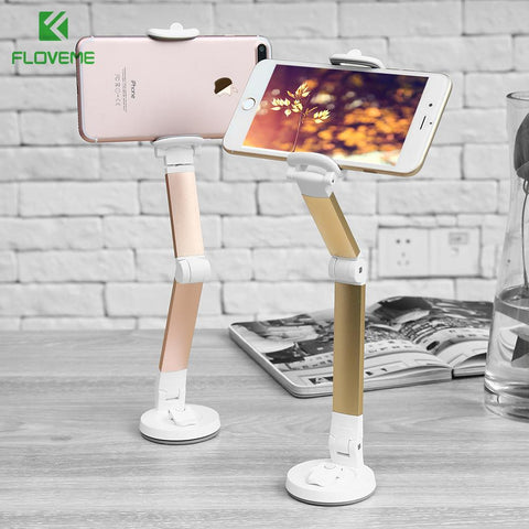 KISSCASE Universal Adjustable Phone Holder for Samsung iPhone Huawei Xiaomi Car Phone Holder Simple Adsorbable Car Holder Stand