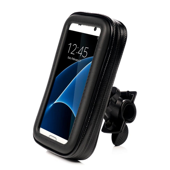 new concept 7bec3 536a5 L Size Waterproof Bicycle bag Bike Mount Phone Holder Case for Xiaomi redmi  4X Samsung Galaxy s8 s7 s6 for iphone se 6 7 8 plus