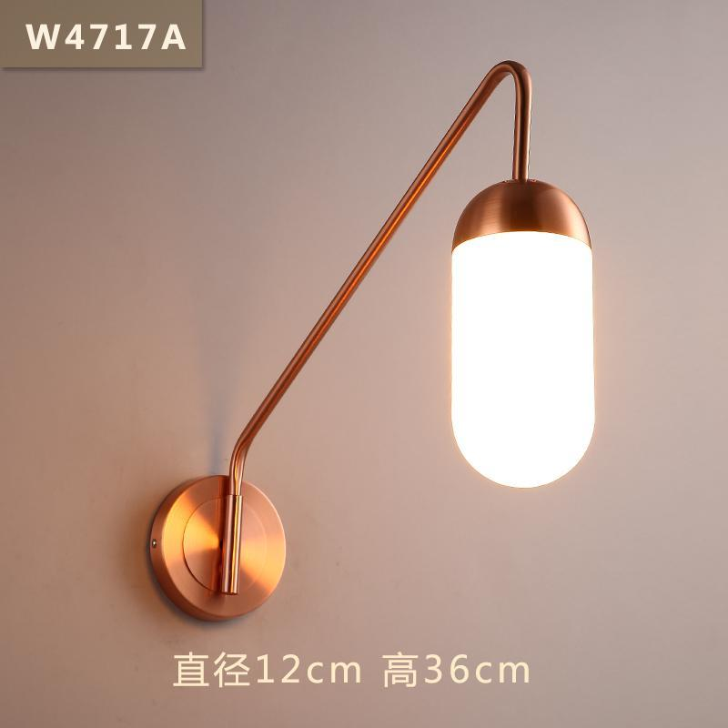 LED Nordic Modern wall sconces Iron living room Wall lights Bar ...