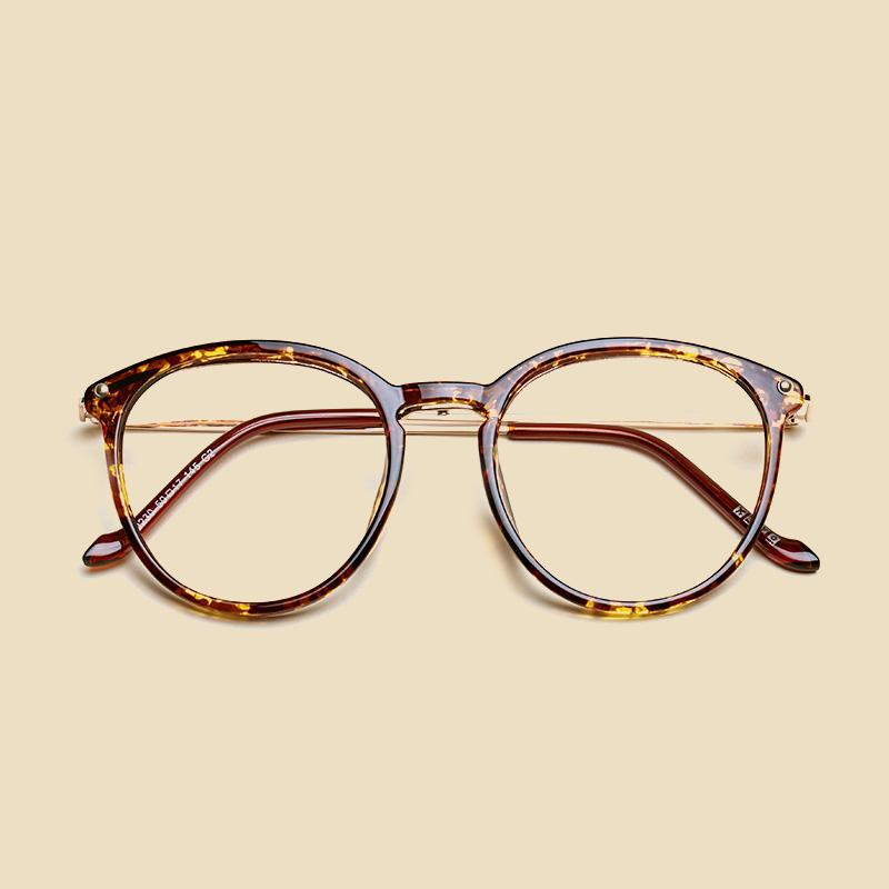 LIYUE Vintage Round Glasses Female Spectacles frame Men Eyeglasses ...