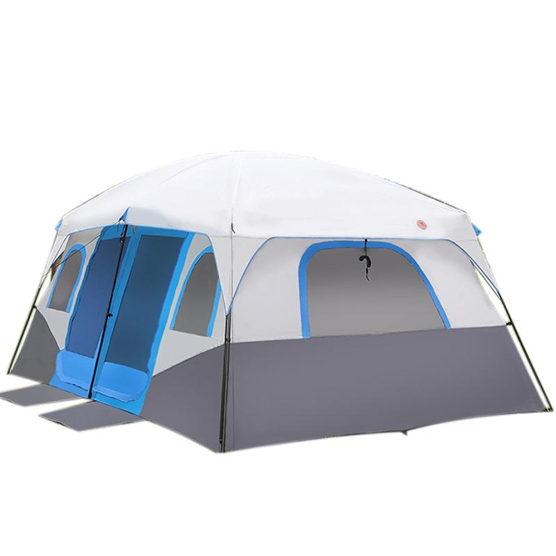 Large Family Camping Tents Waterproof Cabin Outdoor Tent For 8 10 12 Person Event Marquee