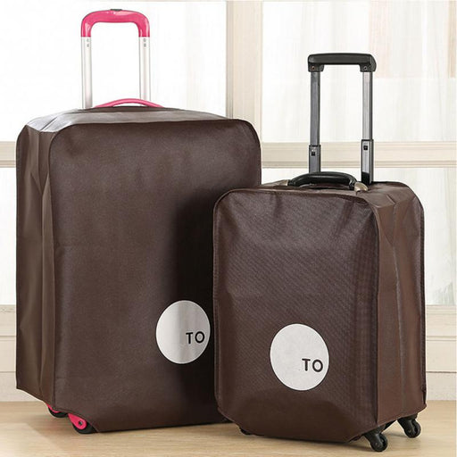 Luggage Cover Travel Suitcase Protective Cover Non-woven Dust Proof Trolley Case Protector Apply to 20-28 inch High Quality