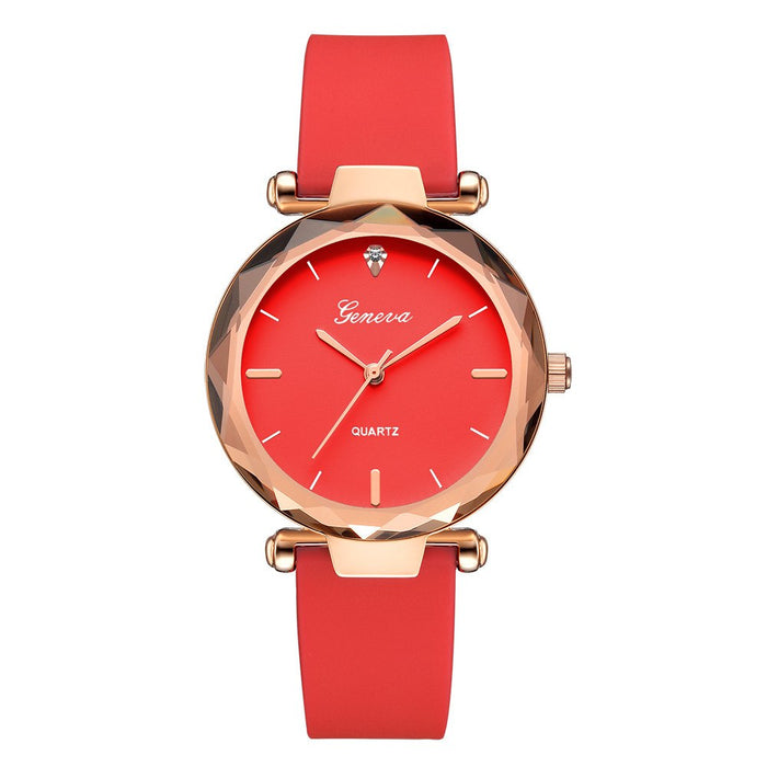 Luxury Women Bracelet Watches Fashion Women Dress Fashion Womens Ladies Watches Silica Band Analog Quartz Wrist Watch