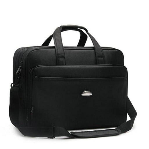 Men Briefcase 14-17 inch Laptop for Man Male Business Laptop Case Handbag Messenger bag Notebook Black