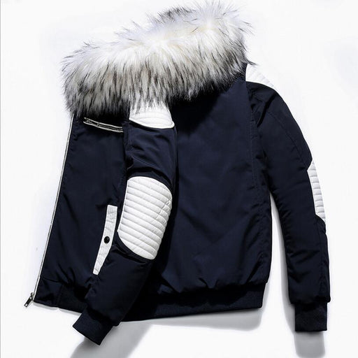 Men Winter Slim Down Jackets Hooded Casual Winter Coats New Male Outwear Warm Parkas Winter Down Jackets