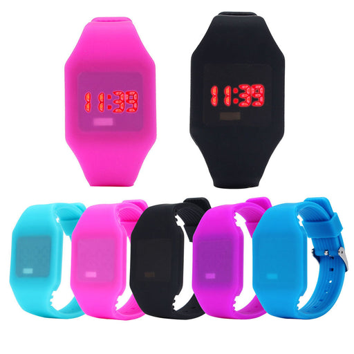 New Luxury Digital Alarm Stopwatch Back Light Watch Women Men Children Sports Wrist Watch Clock Relogio Feminino Masculino 8a60 Back To Search Resultswatches