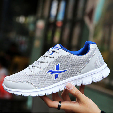Men shoes New Arrivals fashion mesh light breathable men casual shoes men sneakers Lightweight Leisure Shoes Unisex Lover Shoes