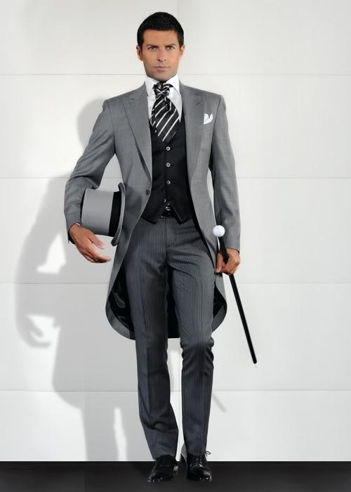 Morning Styletailcoat Jacket Wedding Suits For Men Groom Tuxedos